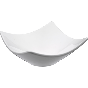 Coupelle en porcelaine blanche 10x10cm-Queen