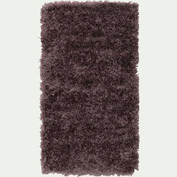 Tapis imitation fourrure - violet 60x110cm-mala