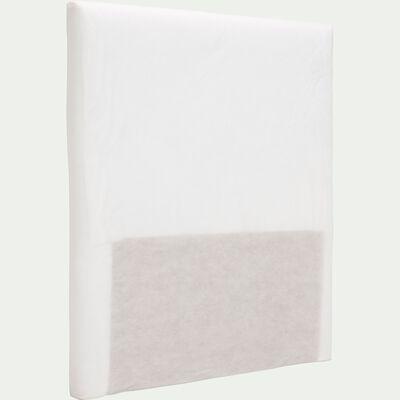 structure de tête de lit blanc - pour lit l90 cm-TOPAZE