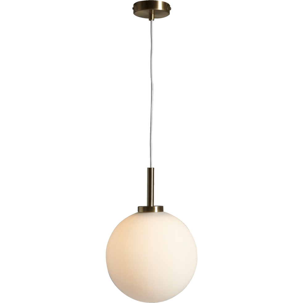 Suspension en laiton doré D25cm-MARIA