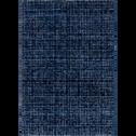 Tapis à motifs bleu 160x230cm-BAPTISTE