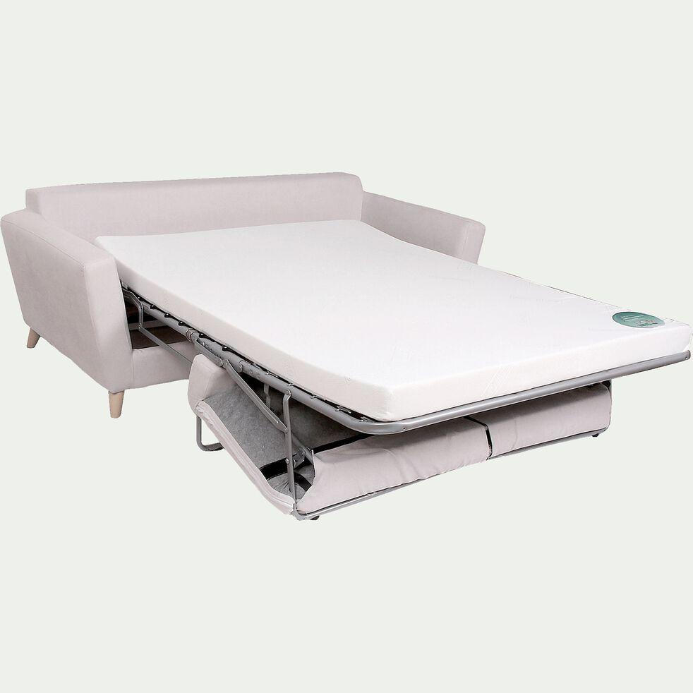 Canapé 3 places convertible BULTEX en tissu - nougat-ICONE