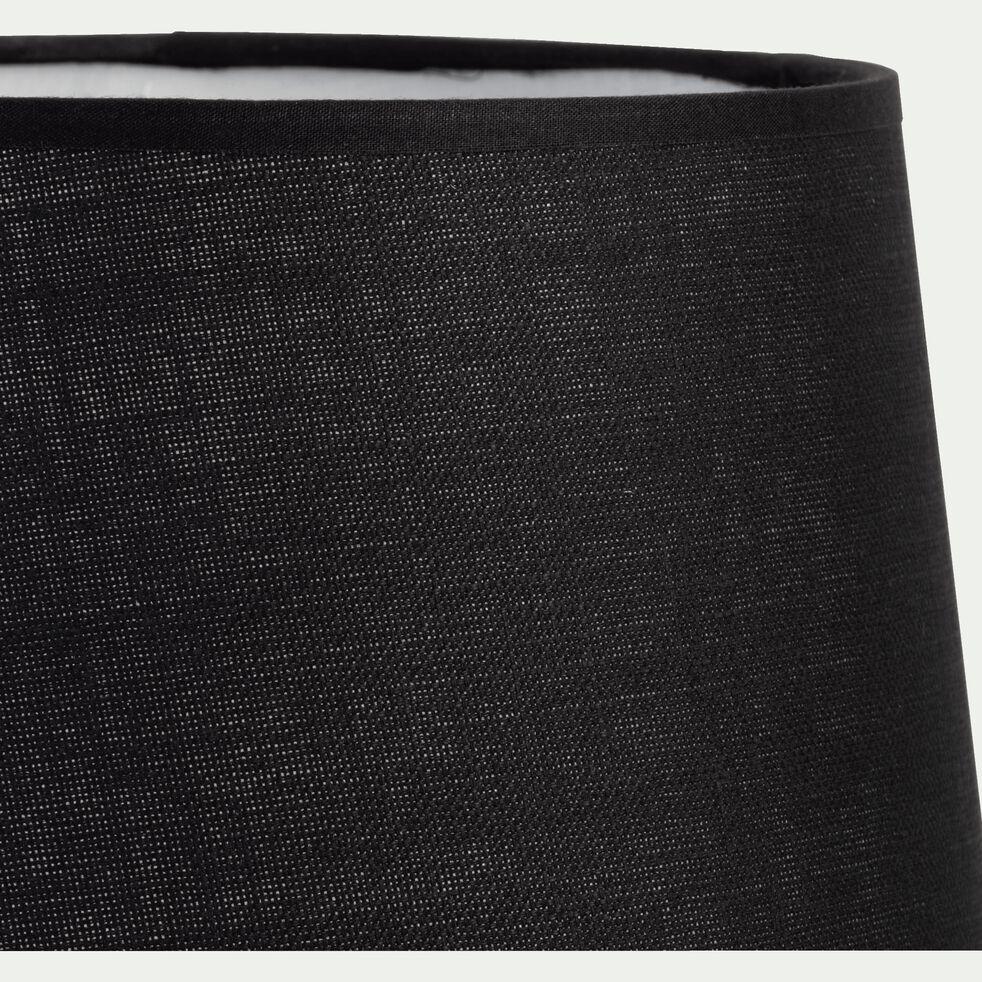 Abat-jour tambour noir-MISTRAL