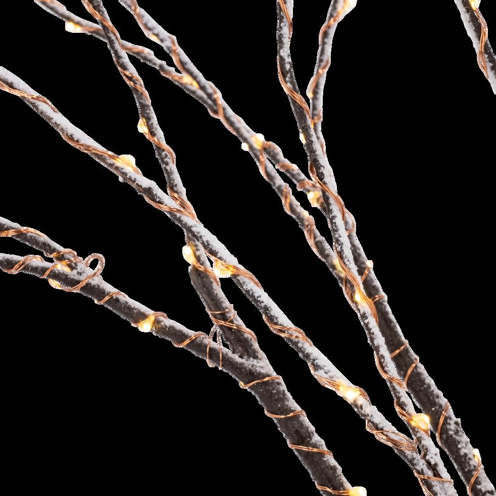 Lot de 3 branches artificielles lumineuses H100cm-FES