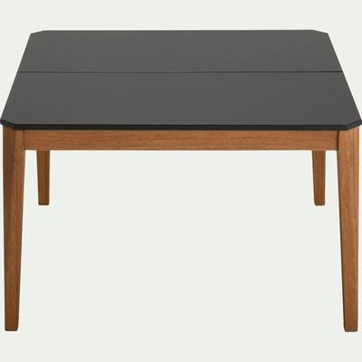 Table basse de jardin en duraboard - gris-BELLONE