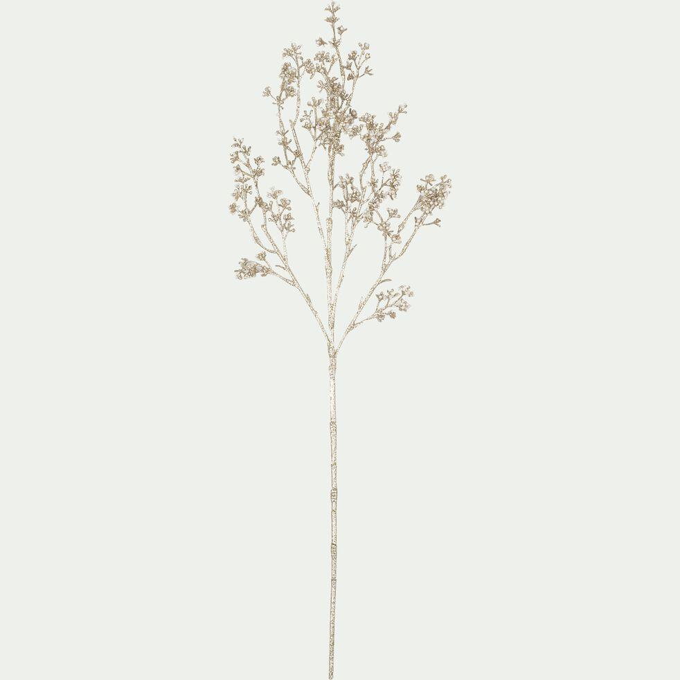 Tige artificielle - marron H66cm-LERIA
