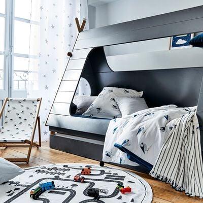 Tiroir de lit pour lit Tipi Gris restanque-TIPI
