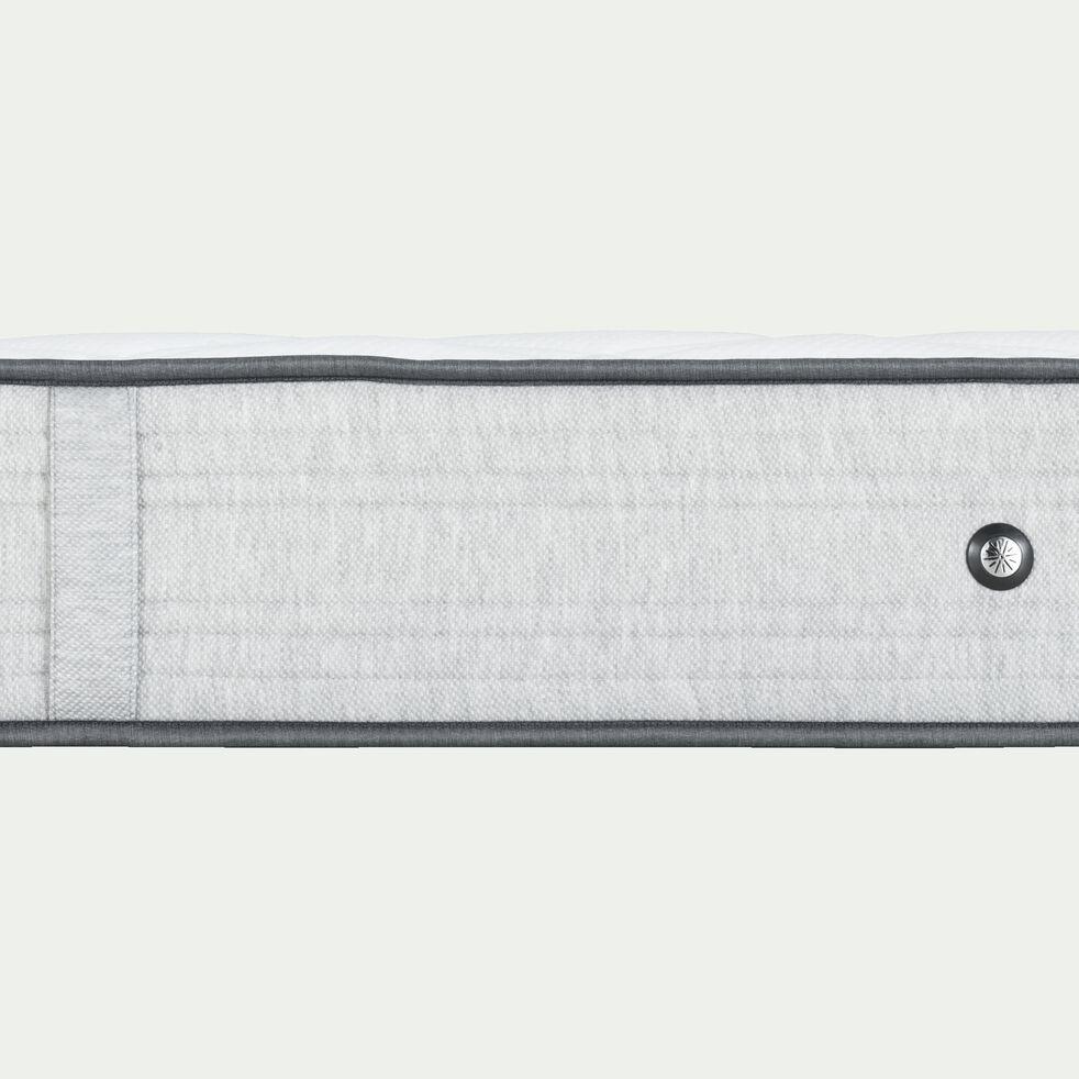 Matelas ressorts gris clair 140x190cm H25cm-ROCCAS