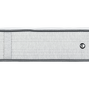 Matelas ressorts Edonia gris clair 140x190cm H25cm-ROCCAS