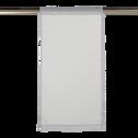 Vitrage gris borie 45x90cm-DUNE