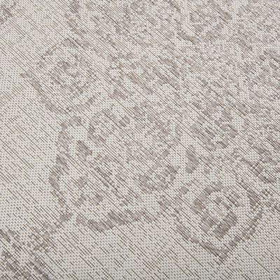 Tapis d'extérieur écru 120x170 cm-MARQUISE