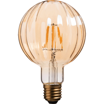 Ampoule décorative LED D9,5cm culot E27-STRIPPED