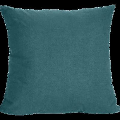 Coussin en coton vert 40x40cm-ALMERA