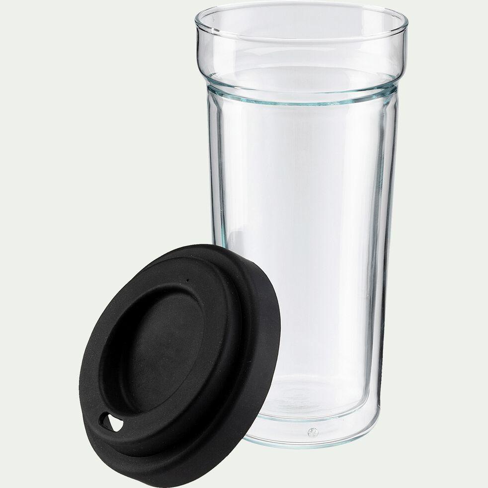 Mug à café en verre borosilicate - 40cl-GARI