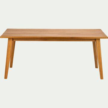 Table de jardin en eucalyptus (8 à 10 places)-LAVANDOU