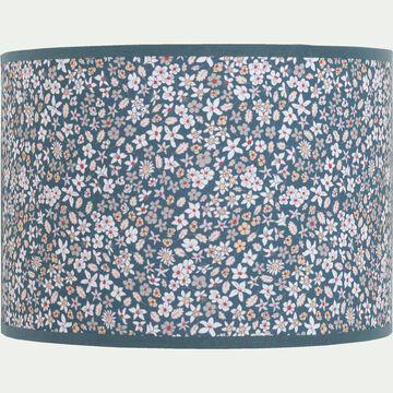 Applique murale motif fleuri L25cm - multicolore bleu-Sigean