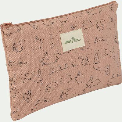 Pochette enfant - rose rosa-Balade