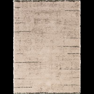 Tapis rectangulaire de style berbère 120x170 cm-AELYS