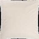Lot de 2 taies d'oreillers 63x63cm en coton-FINE