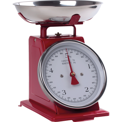 Balance mécanique rouge 20gr à 5kg-MECA