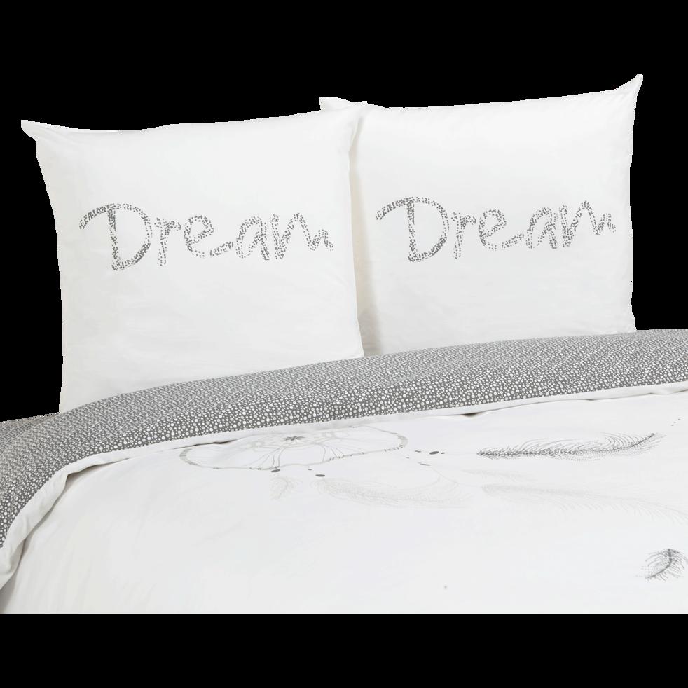 housse de couette 220x240 cm et 2 taies d 39 oreiller dream 220x240 cm parures de lit alinea. Black Bedroom Furniture Sets. Home Design Ideas