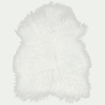 Tapis imitation fourrure - blanc 60x90cm-BUNDCHEN
