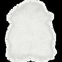 Tapis blanc imitation fourrure 60x90cm-BUNDCHEN