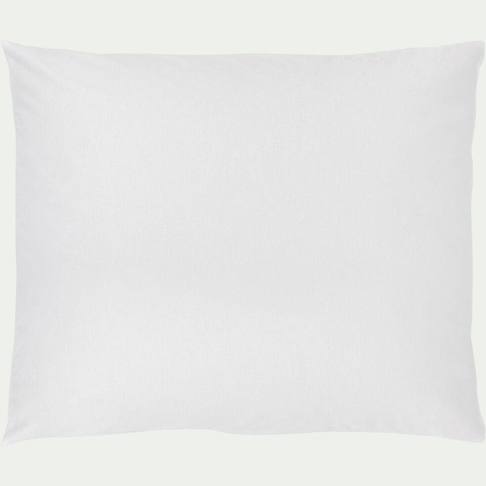 Taie d'oreiller bébé en coton 35x45cm - blanc-Calanques