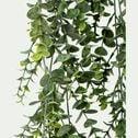 Plante eucalyptus artificielle tombante en pot - vert L78cm-VALYPTUS