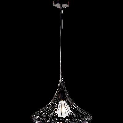 suspension en m tal filaire noir h35xd35cm claudine catalogue storefront alin a alinea. Black Bedroom Furniture Sets. Home Design Ideas