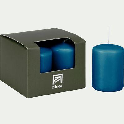 4 bougies votives bleu figuerolles-HALBA