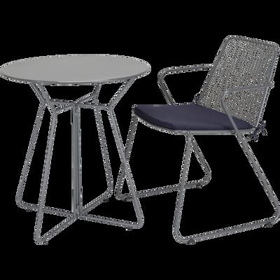 Ensemble de jardin fauteuil et tables basse - Plusieurs couleurs-ALEXIA