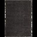 Tapis à poils longs gris 160x230cm-Kris