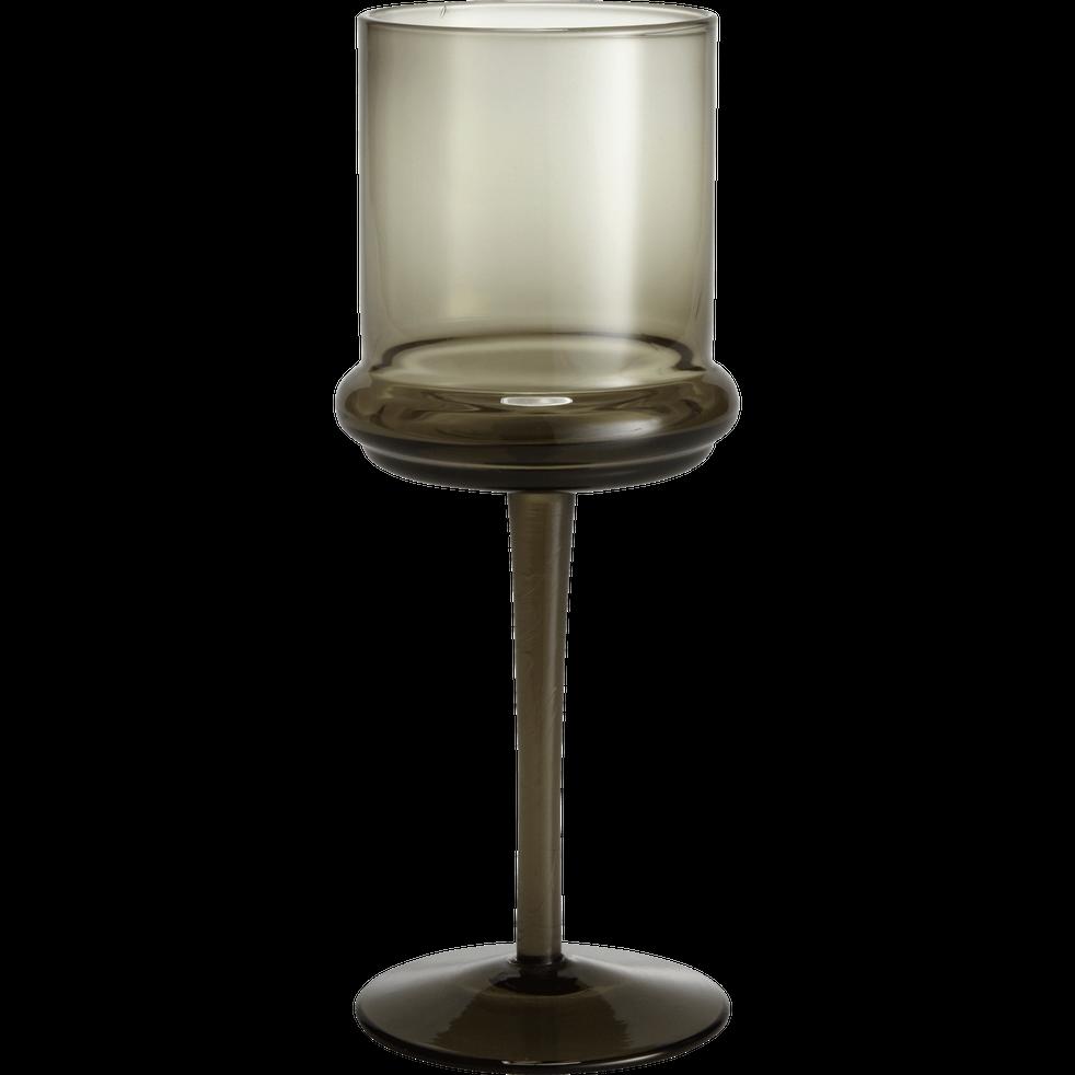 verre vin en verre fum 25cl nectar verres pied. Black Bedroom Furniture Sets. Home Design Ideas