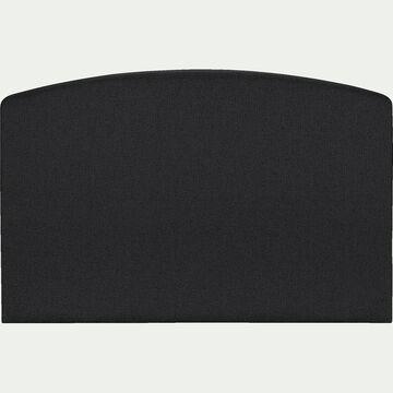 Tête de lit galbée - gris anthracite 190cm-CORTIOU