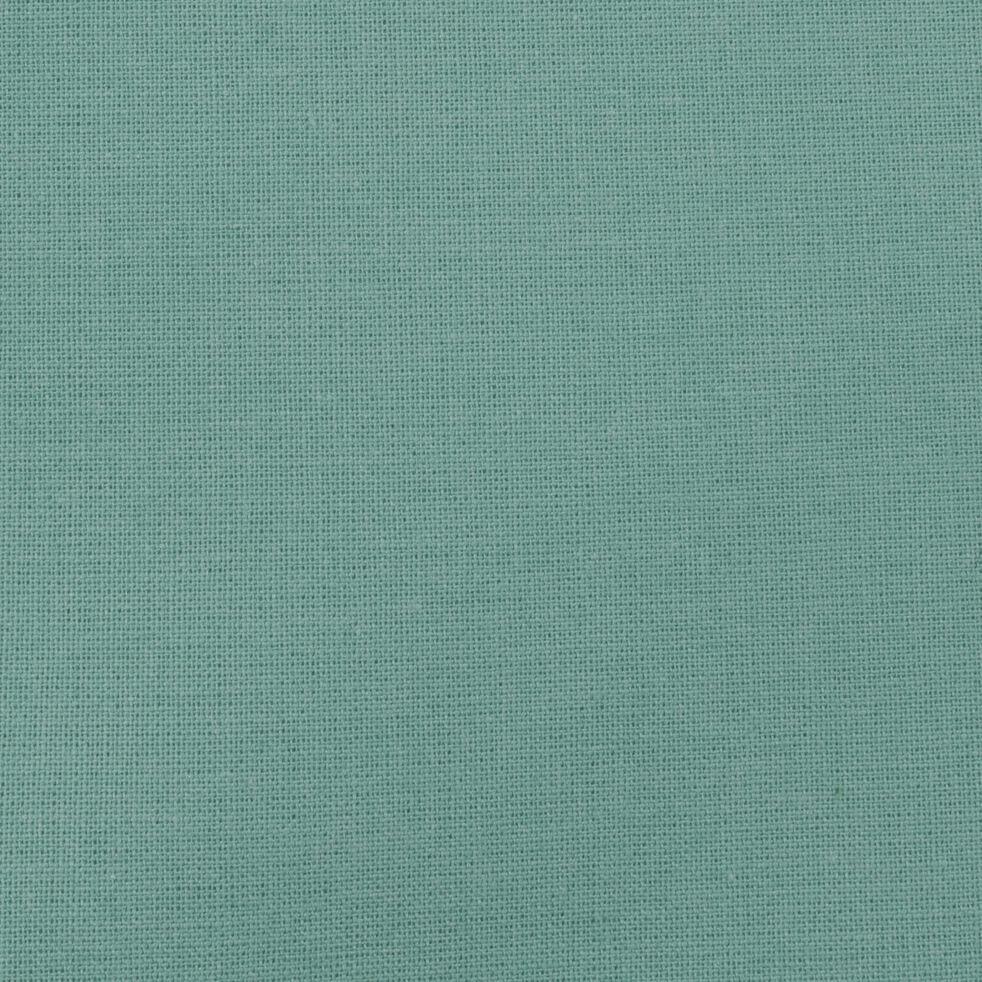 Housse de couette en coton - vert aqua 240x220cm-CALANQUES