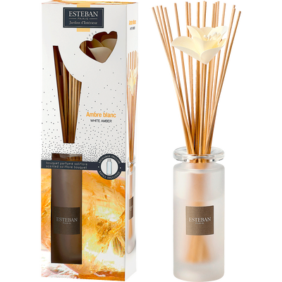 Diffuseur de parfum ambre blanc 75ml-ESTEBAN