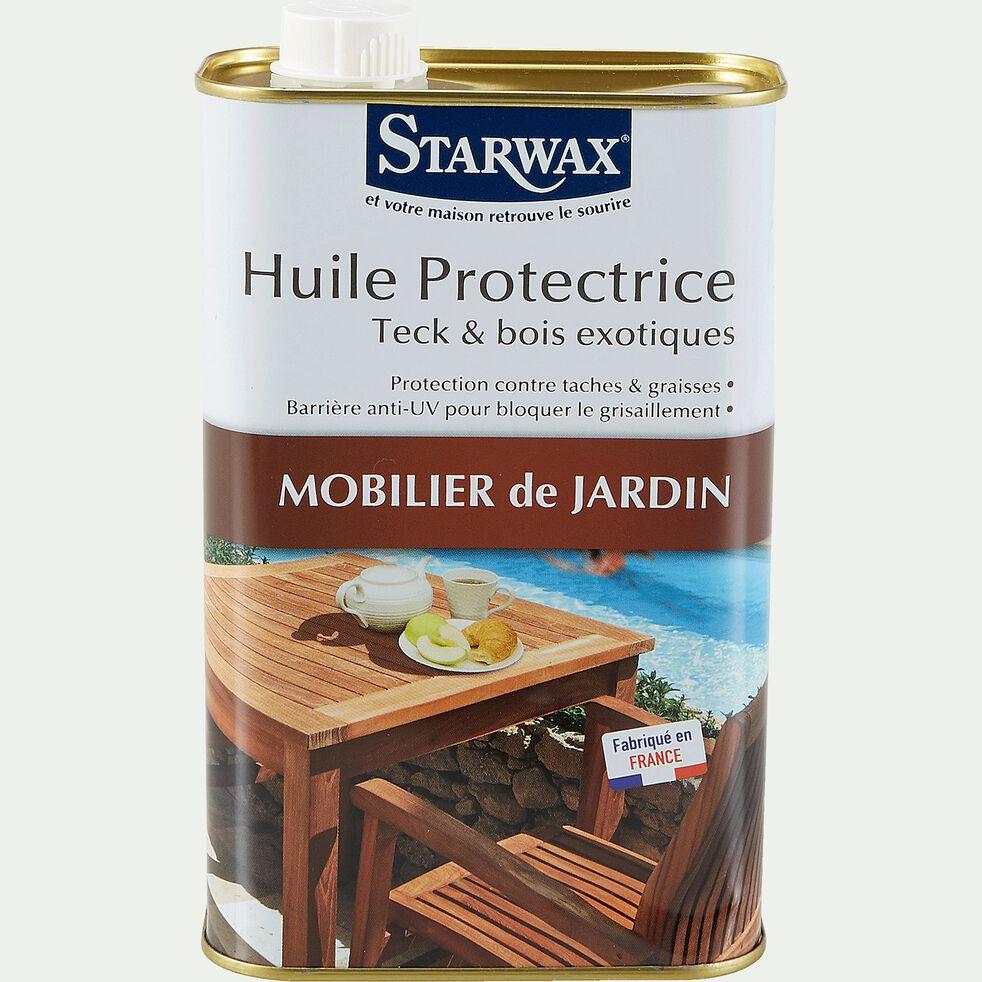 Huile protectrice pour teck et bois exotiques 1L-HUILE PROTEC