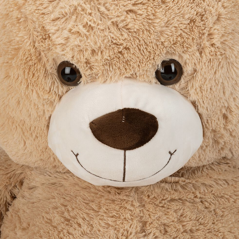 Peluche ours h135cm - beige-Tom