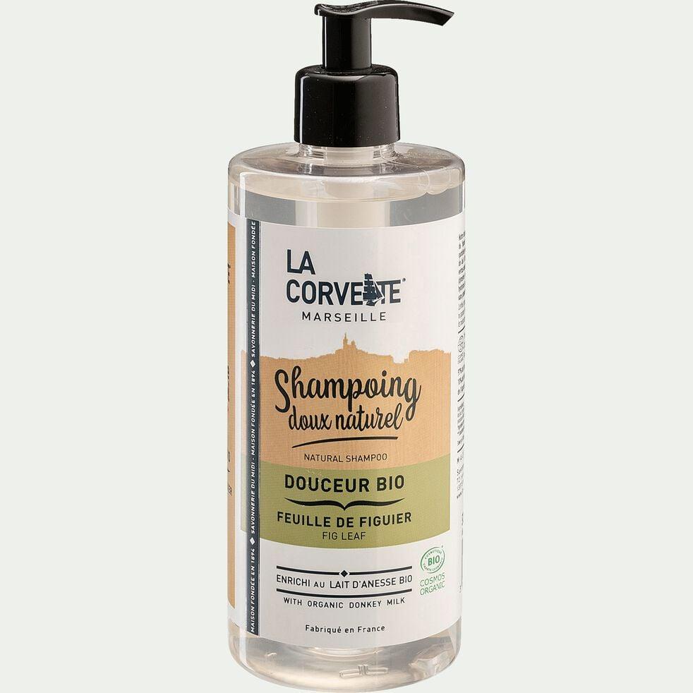 Shampoing doux bio à la feuille de figuier 500ml-LEO