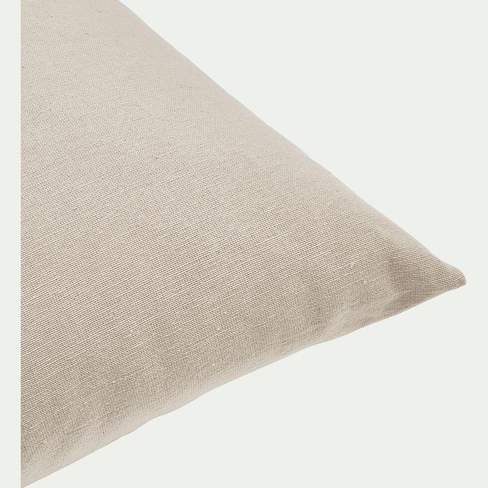 Coussin en coton - beige alpilles 40x40cm-CALANQUES
