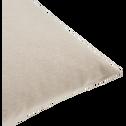 Coussin en coton beige alpilles 40x40cm-CALANQUES