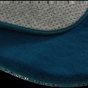 Tapis forme nuage bleu figuerolles-MORGIOU