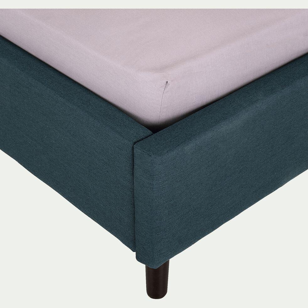 Lit 2 places avec tête de lit- 140x190cm-JOE