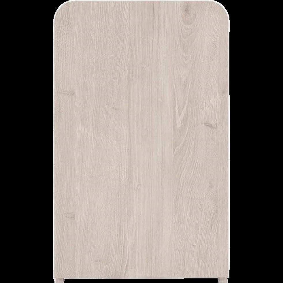 table de chevet haute effet ch ne 1 porte lena tables. Black Bedroom Furniture Sets. Home Design Ideas