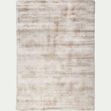 Tapis en viscose - beige 120x170cm-TANSEN