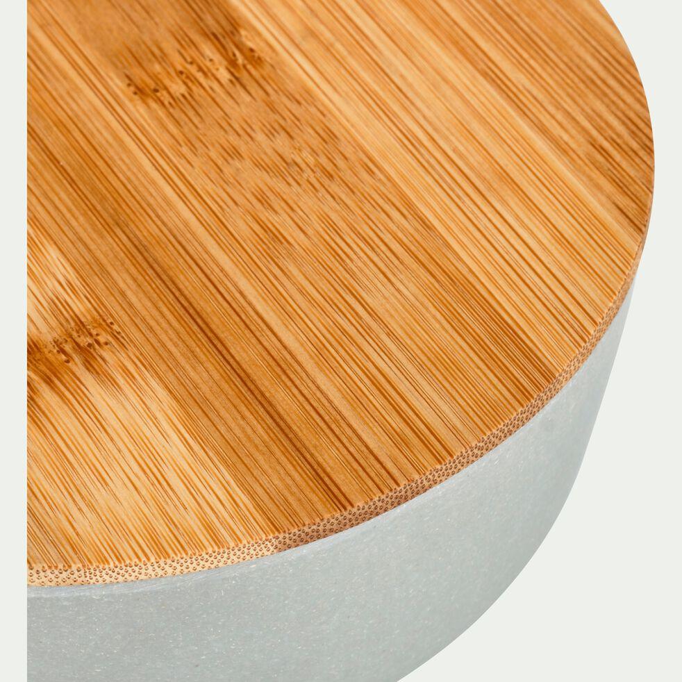 Saladier en fibre de bambou vert D15,2cm-TREZ