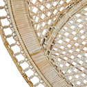 Fauteuil en rotin naturel-Anaelle