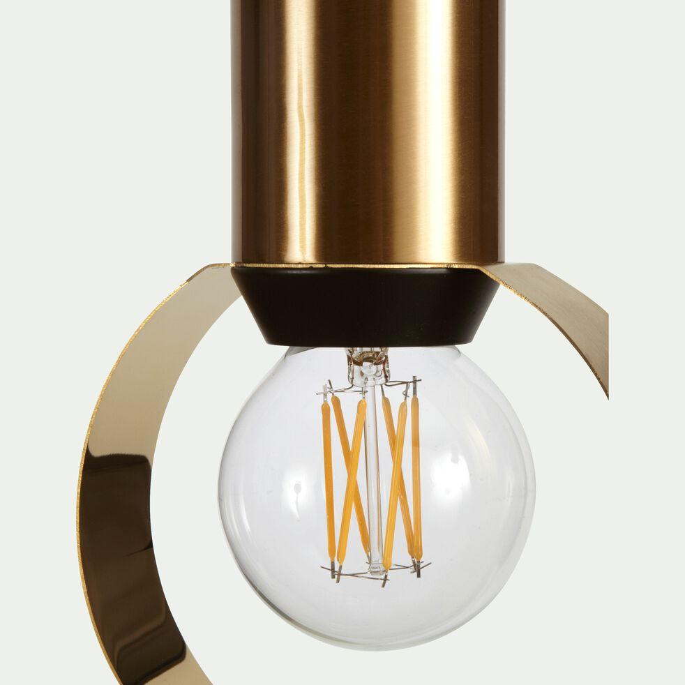 Suspension en métal - doré H26,5xD15cm-ARA