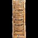 Étagère en rotin pour plantes H125 cm-Noukous